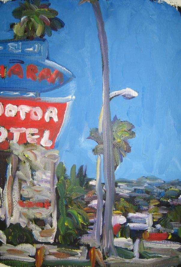 Saharan Motel by Andrea LaHue