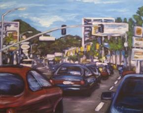 Up La Brea by Andrea LaHue
