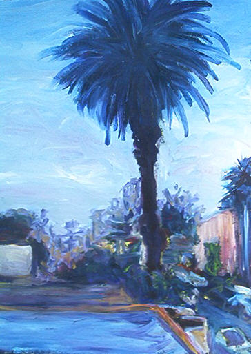 Palm Out Front by Andrea LaHue