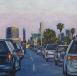 101 South to Downtown by Andrea LaHue