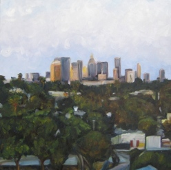 Downtown from West Hollywood by Andrea LaHue