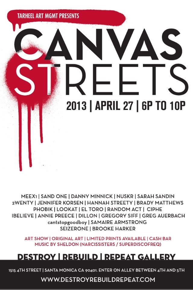 canvas streets
