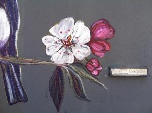 los angeles street art, andrea LaHue, Random Act of Flowers, Random Act of kindness, street art