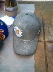 wishlist silver daisy hat alahue
