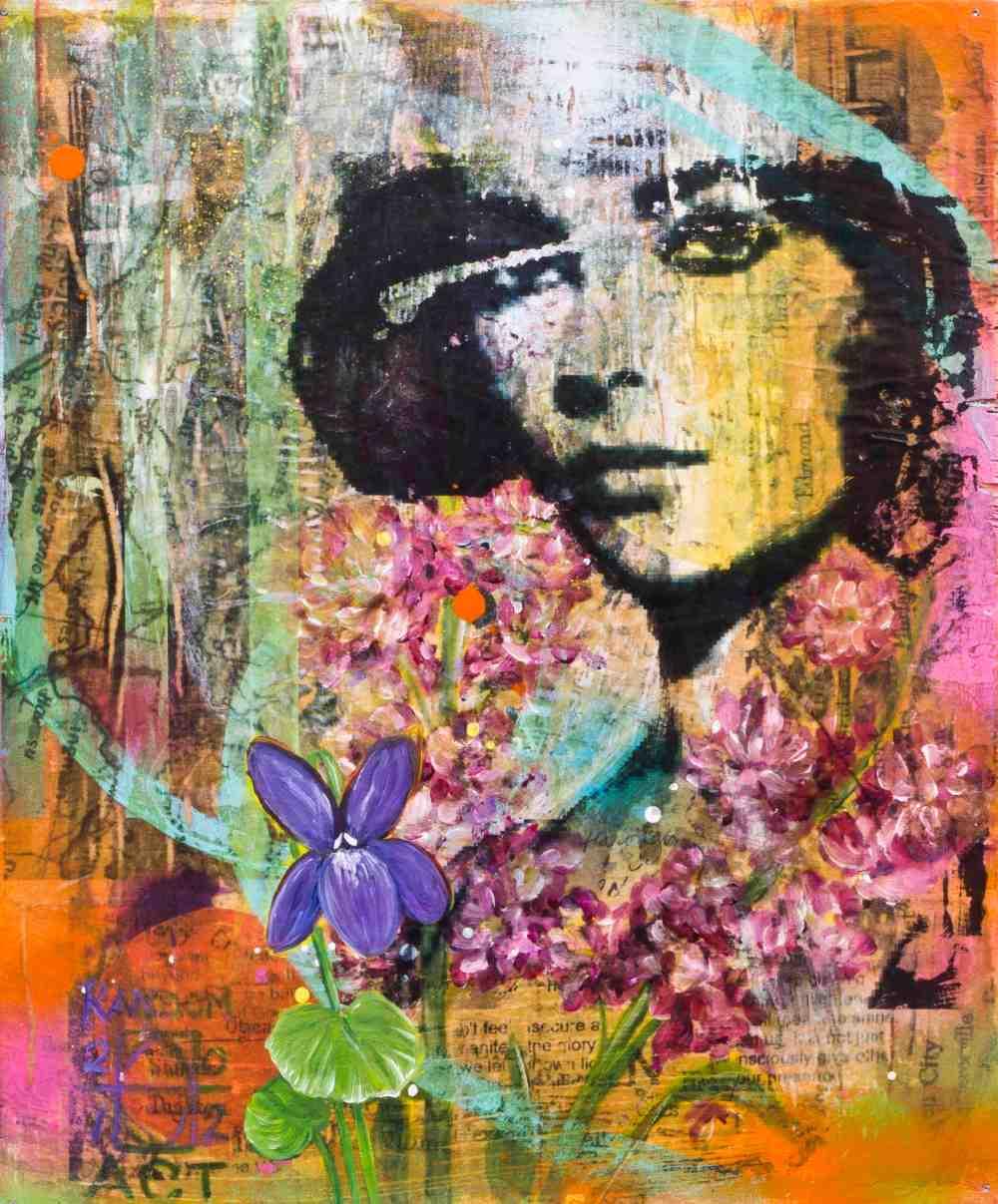 She Had Violet Eyes by Andrea LaHue aka Random Act
