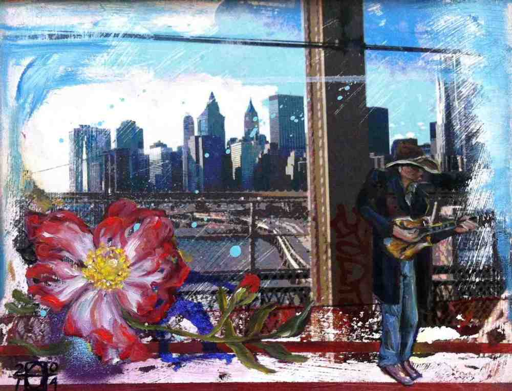 There's a Wild Rose in Brooklyn, 2014 A LaHue
