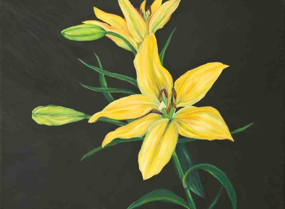 Towards Yellow Lily, 2005 by Andrea LaHue aka Random Act
