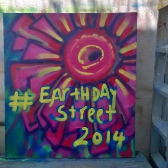 #EarthdayStreet2014