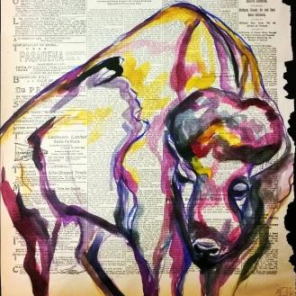 watercolor and goache