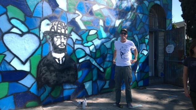 Teacher for art demos at The Gabba Gallery