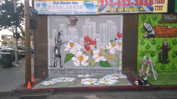 Downtown Los Angeles Collaboration with Bandit