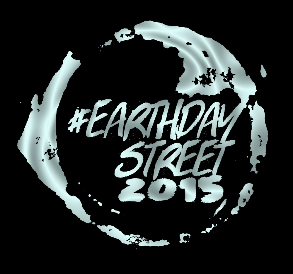 earthdaystreet logo water