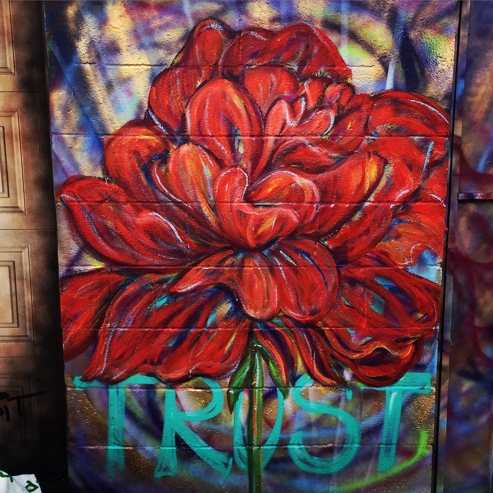 random acts of flowers – Andrea LaHue aka Random Act