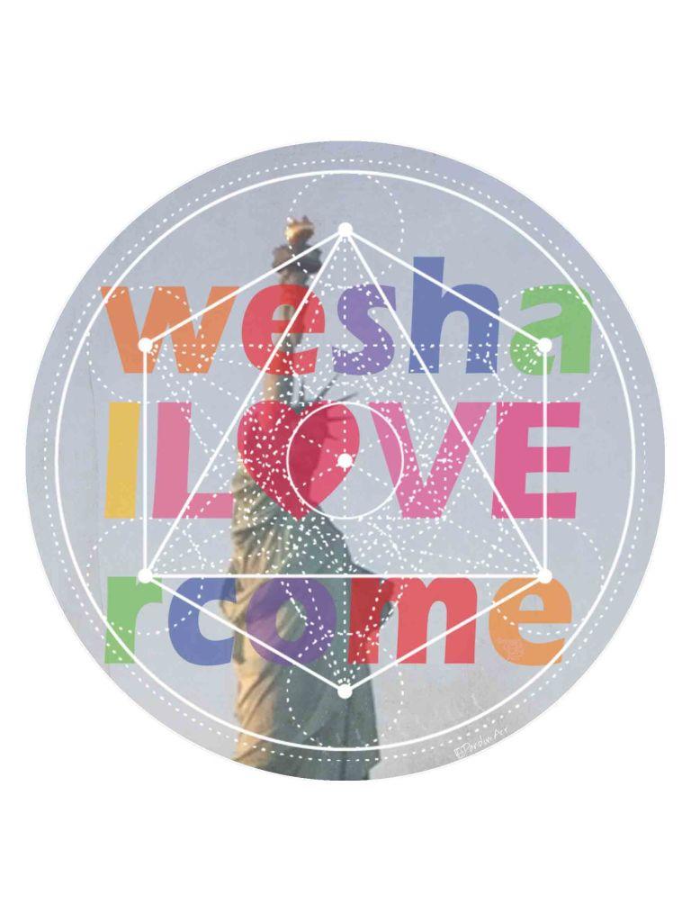 12x16 weshallovercome liberty rainbow sm